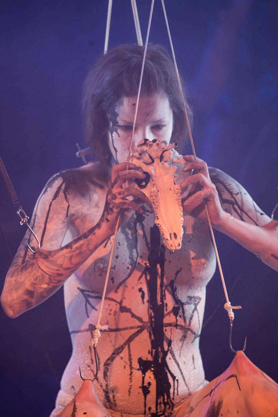 Body art, Performance art